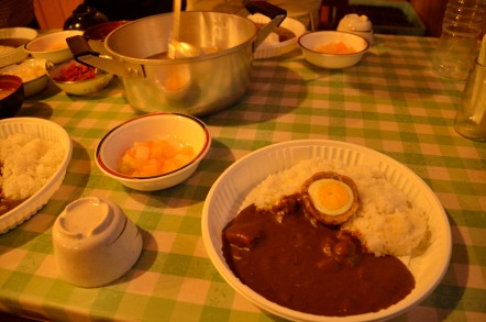 五竜山荘 カレーライス