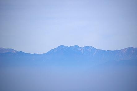 横手山山頂 五竜岳 唐松岳