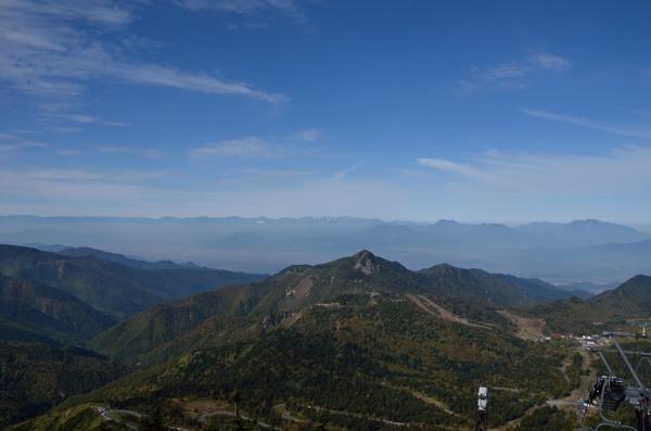 志賀高原 横手山山頂