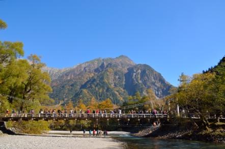 上高地 河童橋