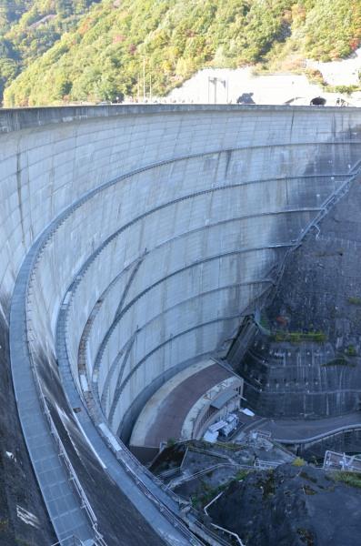 奈川渡ダム 東京電力 堰堤