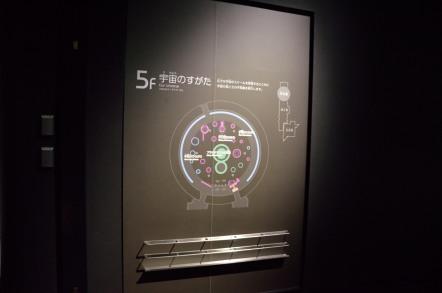 名古屋市科学館 5階 宇宙のすがた