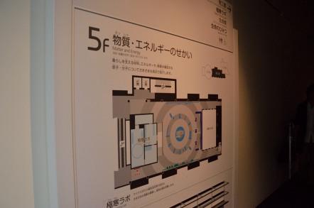名古屋市科学館 5階 物質・エネルギーのせかい