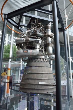 名古屋市科学館 LE-7 エンジン