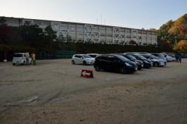 香嵐渓 足助中学校 駐車場