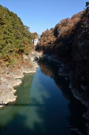 天竜峡 つつじ橋からの眺め
