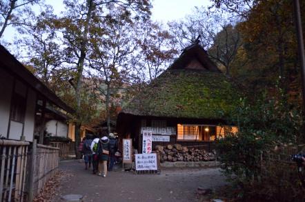 香嵐渓 川見茶屋