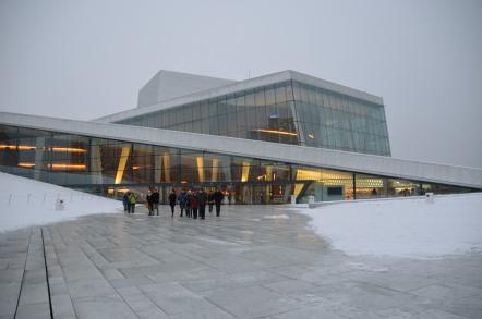 オスロ オペラハウス
