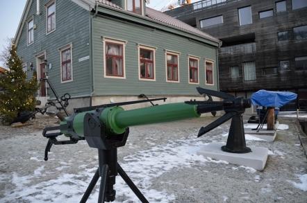 トロムソ 北極博物館 銛 もり