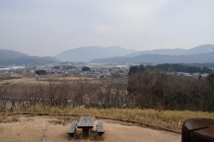 関ヶ原 笹尾山 石田三成 陣
