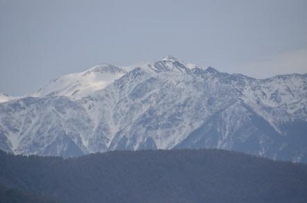 仙丈ヶ岳 頂上