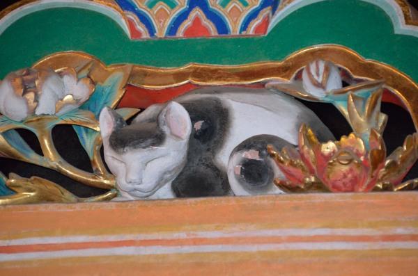 日光東照宮 眠り猫