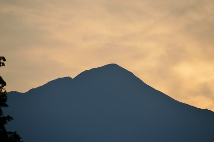 下栗の里 聖岳
