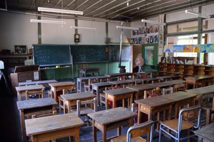 旧木沢小学校 教室
