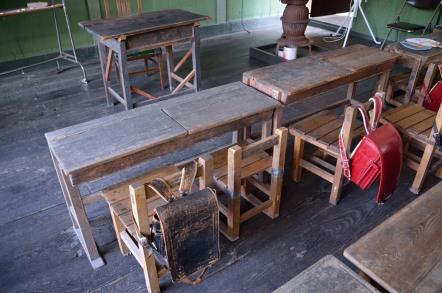 旧木沢小学校 机