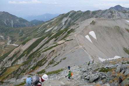 真砂岳 稜線歩き