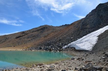 二ノ池 雪渓