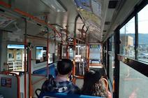 赤目滝行きバス