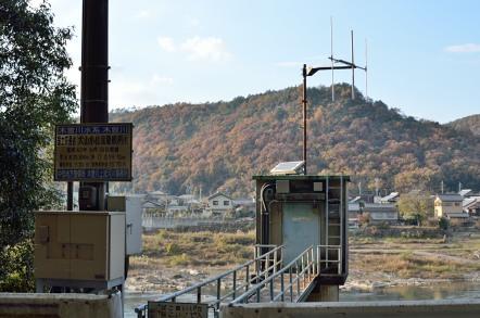 国土交通省 木曽川水位流量観測所