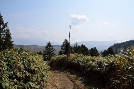 白草山 登山