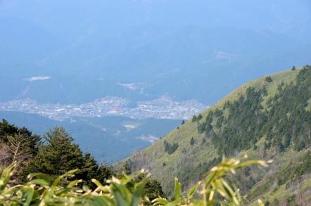 白草山 加子母村