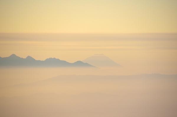 八ヶ岳 富士山