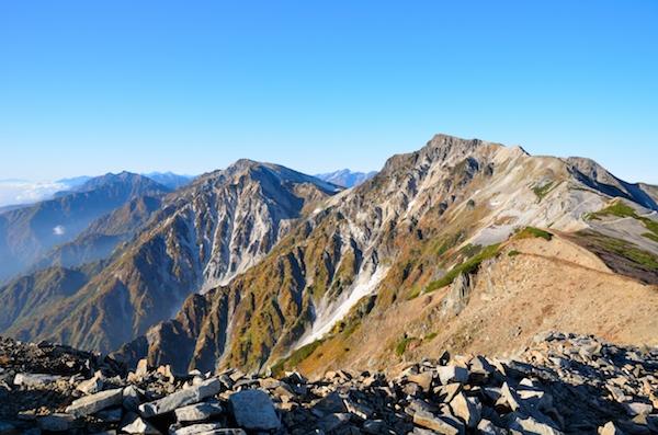 小蓮華山 山頂からの眺め