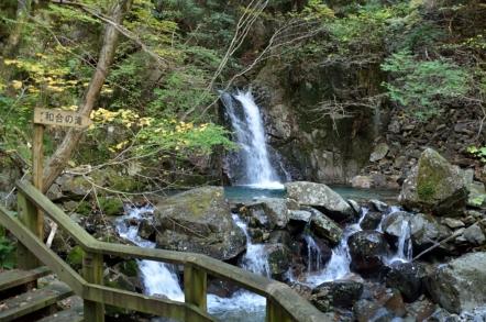 小秀山 二の谷ルート 和合の滝