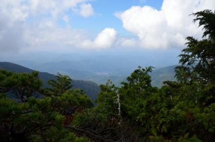 小秀山 二の谷ルート カモシカ渡り