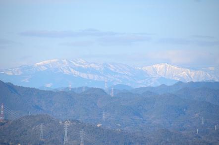 猿啄城展望台 大日岳 鷲ヶ岳