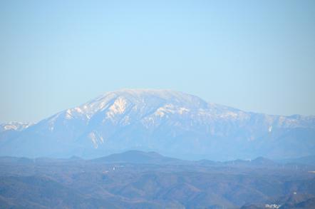 猿啄城展望台 恵那山