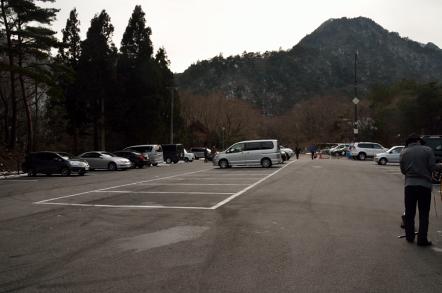 御在所岳 鈴鹿スカイライン 無料駐車場