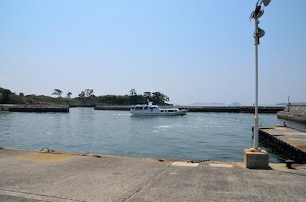 佐久島西港 はまかぜ号
