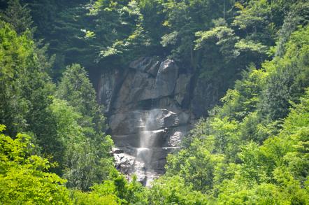 阿寺渓谷 雨現の滝