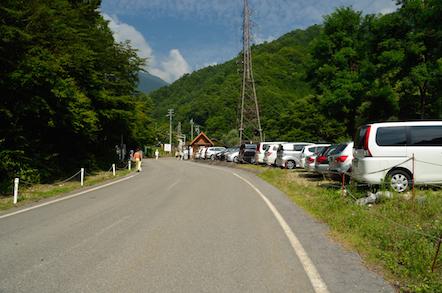 木曽駒ヶ岳 登山 黒川平バス停