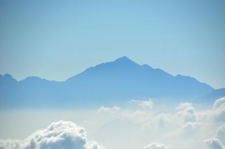 木曽駒ヶ岳 千畳敷カールからの南アルプス 甲斐駒ケ岳