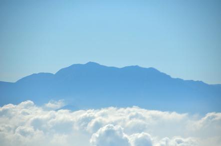 木曽駒ヶ岳 千畳敷カールからの南アルプス 仙丈ヶ岳