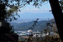 大谷山から弥勒山