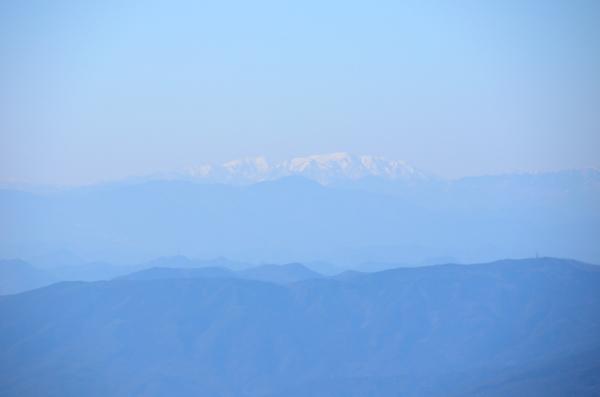 富士見台高原から能郷白山