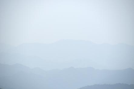 三田洞展望広場から舟伏山