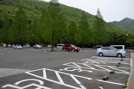 ながら川ふれあいの森駐車場