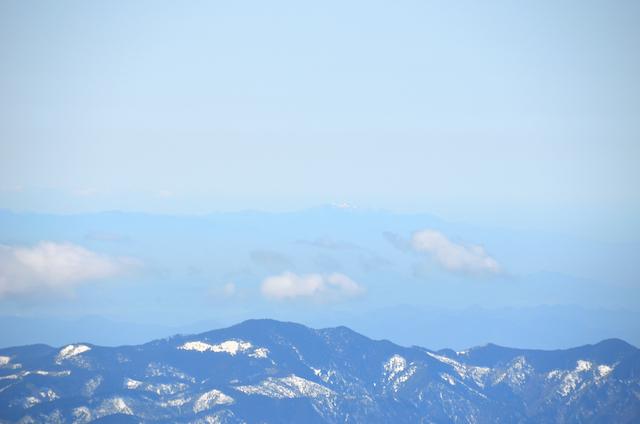 木曽駒ヶ岳 山頂からの眺め 霊仙山