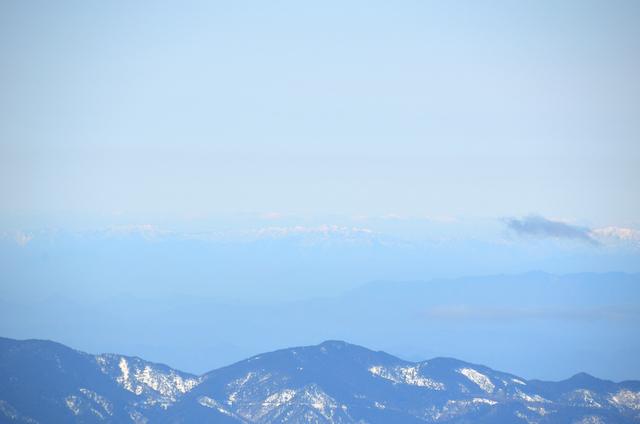 木曽駒ヶ岳 山頂からの眺め 能郷白山