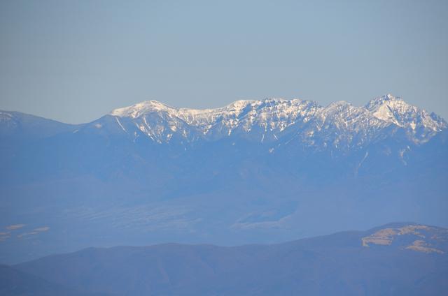 木曽駒ヶ岳 山頂からの眺め 硫黄岳 赤岳 阿弥陀岳