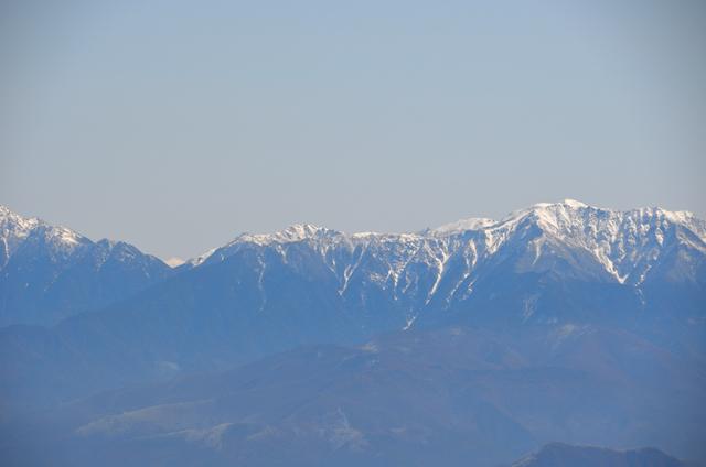 木曽駒ヶ岳 山頂からの眺め アサヨ峰 仙丈ヶ岳