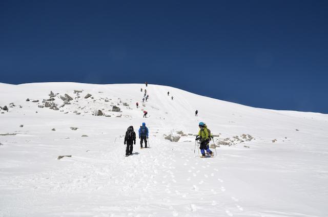 木曽駒ヶ岳 山頂 〜 中岳