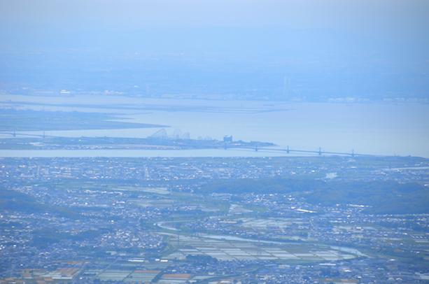 竜ヶ岳 山頂からの眺め ナガシマスパーランド