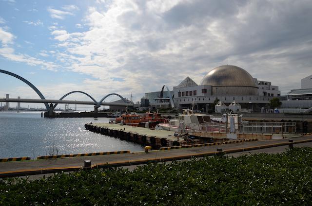 第四管区総合訓練 会場 名古屋港水族館南側