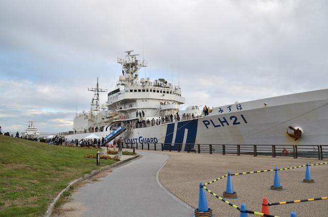 第四管区総合訓練 巡視船 PLH-21 みずほ