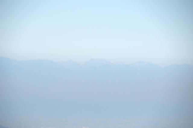 甲斐駒ヶ岳からの眺め 立山 剱岳